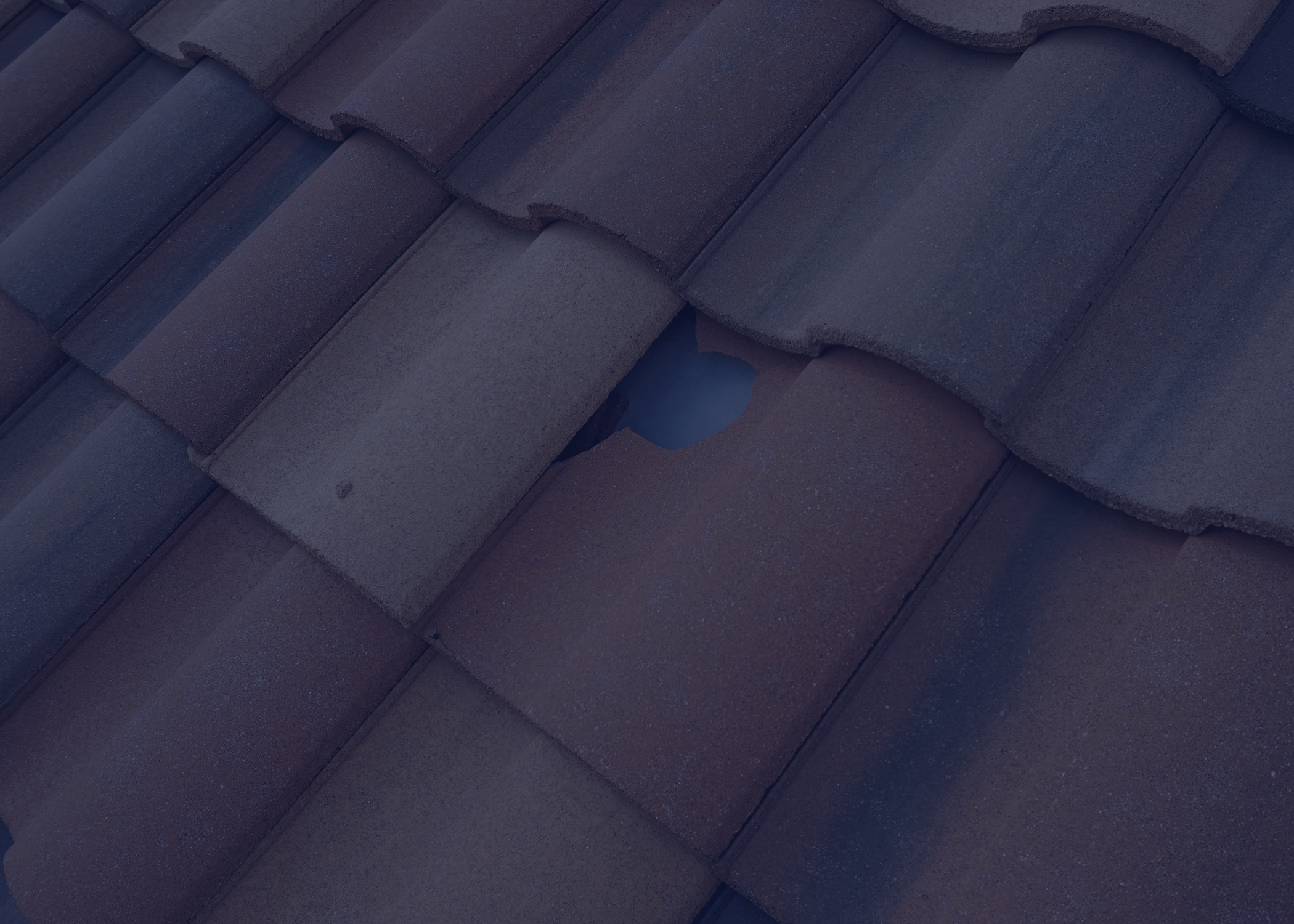 Common Distress to Concrete Tile Roofing